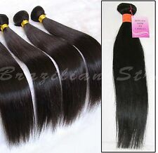 Brazilian Silky Straight 100% Remy Virgin Unprocessed Human Hair Weave/Extension