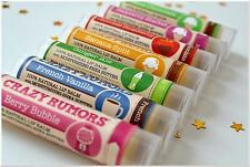 Crazy Rumors Lip Balm Natural & Vegan New Crazy Rumours flavours chapstick
