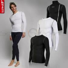 ATHLETE Mens Winter HOT GEAR Thermal Pro Grade Compression Baselayer Top Skins