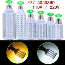 5050 SMD LED E27 Corn Light Bulb Lamp Cool Pure White Warm White AC 110v 220V
