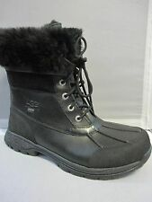 UGG MENS M BUTTE BLACK BOOTS 5521