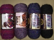 Lion  Brand  -  Homespun  Yarn   - Choice  of  31  Colors  -  New