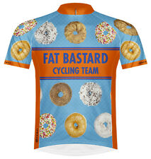 Primal Wear Fat Bastard Donuts Cycling Jersey Men's bicycle bike doughnuts + sox