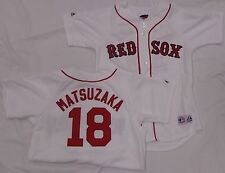 Boston Red Sox Men's Daisuke Matsuzaka Baseball Jersey White