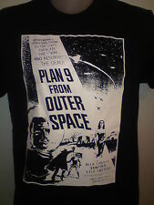PLAN 9 FROM OUTER SPACE TSHIRT horror sci fi ed wood dvd poster ALL SIZES