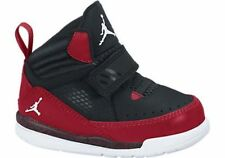 NEW BABY JORDAN FLIGHT 97 TODDLERS [654980-002]  BLACK//GYM RED-WHITE