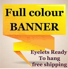PVC BANNER SIGN CUSTOM SIZE FREE ARTWORK & VINYL SIGN printingOK