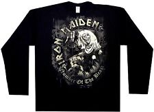 Iron Maiden - NOTB Grey Tone - Long Sleeve - New T-Shirt - Vrs Sizes