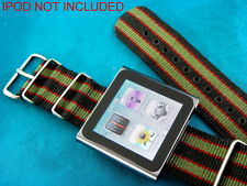 PREMIUM BRITISH G-10 MILITARY  STYLE IPOD OR WATCH BANDS / STRAPS