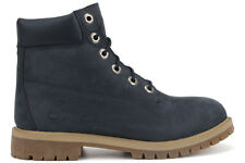 Timberland 6 Inch Premium 9497R New GS Youth Big Kids Navy Lifestyle Boots Shoes