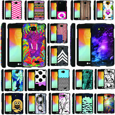LG Tribute LS660 [GUARD] Graphic Image Shell Cover Hard Case (Virgin Mobile)