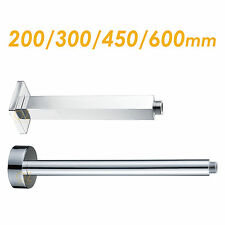 NEW Square Round 200/300/450/600mm Brass Ceiling Shower Arm Extension For Head