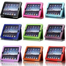 Sale Magnetic Folio PU Leather Case Cover Stand For Apple iPad 1 1st Generation