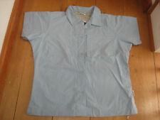 TRESPASS COLUMBUS PALE BLUE TREKKING WALKING DRY TRAVEL SHIRT TOP S M L XL BNWT