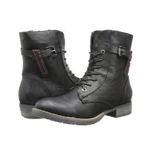 FORTRESS Spring Step Womens Patrizia Fortress Lace Up Boot Black