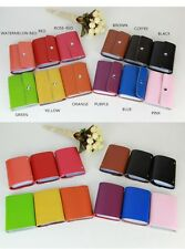 Fashion Real Leather Credit Business ID Card Holder Organizer Wallet Bag Case