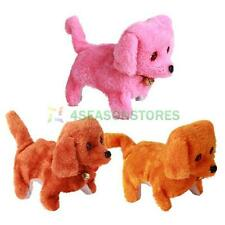 Lovely Electronic Walking Talking Dog Toy Sound Mimicry Kids Play Pet Plush Toy
