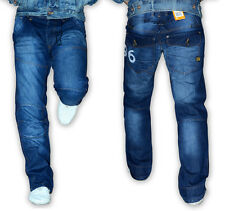 SALE G STAR RAW 96 ELWOOD HERITAGE EMBRO BLUE MENS JEANS 70% OFF