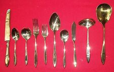 New Old Stock 1962 REGAL Pattern  By Dirilyte Gold Electroplate in Plastic