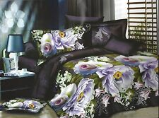 3 Pcs Luxury Microfiber Printed Bedspread Coverlet Quilt Set 13039