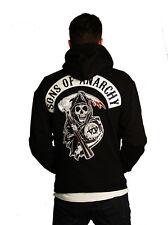 Sons of Anarchy Authentic Patch Fleece Jacket