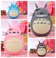 Cute 3D Lovely Cartoon Fat Cat Soft Silicone Case Cover Skin For Apple iPhone
