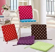 XS Summer Autumn Dining Garden Patio Home Kitchen Office Chair Seat Pads Cushion