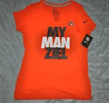 Nike MY MANziel Cleveland Browns Johnny Manziel Womens T-Shirt 718261 827 NWT