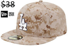 Los Angeles Dodgers Men New Era 59Fifty Fitted MLB Camo Baseball Team Hat Cap