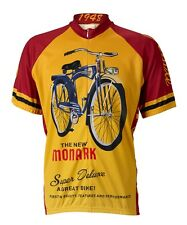 Monark Bicycle Retro Cycling Jersey World Jerseys Men's Short Sleeve with Socks