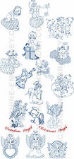 "ABC Designs 18 Angels-N-Fairies  Machine Embroidery Designs SET 5""x7"" hoop"