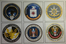 UNITED STATES GOVERNMENT AGENCY FRIDGE MAGNETS