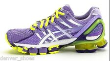 Asics Gel  Kinsei 4 Women's Running Shoes NEW Purple Lavender Yellow T189N 2401