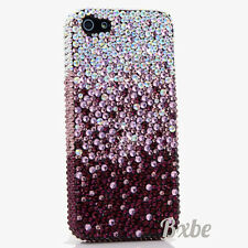iPhone 6 6S / 6S Plus 5S Bling Crystals Case Cover Purple Faded Lavender AB
