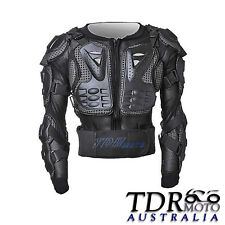 Kid Fox Titan Style Youth Racing Body Armour  Full Jacke MX ATV Quad Pit Bike