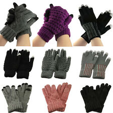 Unisex Warm Smart Phone Tablet Touch Screen Magic Iphone Gloves Mitten Xmas Gift