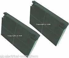 Cooker Hood Carbon Charcoal Replacement Filter 195mm x 140mm x 20mm x 2 PACK