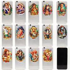 i6 PD Ultra Thin 0.3mm Disney Tattoo Princess  Rubber PC Back Case For iPhone 6