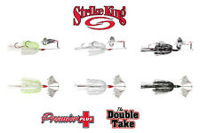 "Strike King Premier Plus ""The Double Take"" Buzzbait - Select Size/Color"