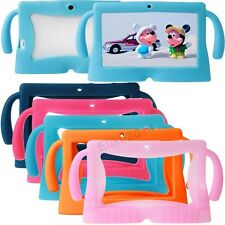 "Soft Silicone Cover Case for 7"" Inch Android Kids Gilr's Boy's Tablet PC Q88 A13"