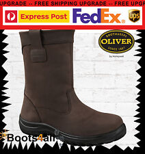 New Oliver Work Riggers Boots Mining/Farming/Building Steel Toe/Safety 34691