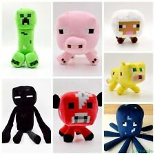 New Cute 1PCS Minecraft Animal Patterns Plush Soft Toy Stuffed Doll Kids Gift