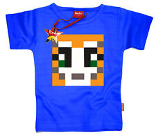 Kids Childrens Boys Girls Mens Mr Stampy YouTube T-Shirt Gift (Blue)