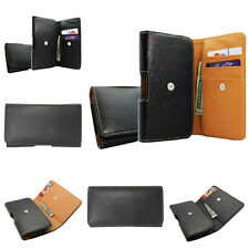 Leather Wallet ID Holster Belt Clip Carrying Case Pouch for Apple iPhone 6 4.7""