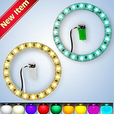 The Best LED POP Bumper RIngs for All Pinball Machines!  Variable Brightness!