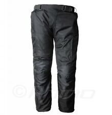 Mens Cordura Textile Motorcycle Pants CE armour, zip out liner, waterproof, with