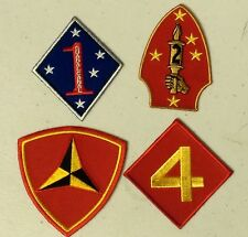 """(D1/4) Choose US MARINE CORPS DIVISION 3"""" sew / iron on patch (4238/41) Military"""