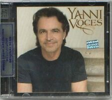 CD + DVD YANNI VOCES SEALED NEW 2009 IN SPANISH