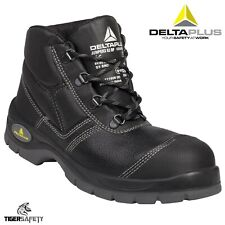 Delta Plus Panoply Jumper S3 Black Ladies Water Resistant Bump Cap Safety Boots