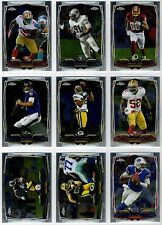 2014 Topps Chrome Football Base, Rookie, & Stars #1-35 You Pick Finish Your Set